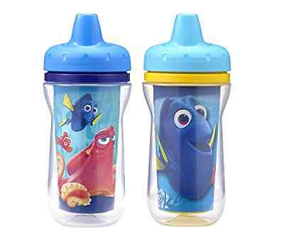 2-pk The First Years Disney/Pixar Finding Dory Insulated Sippy Cup 9oz Baby Cups