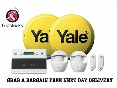 NEW YALE EASY FIT EF-KIT2 Telecommunicating Alarm System 2 Year Warranty