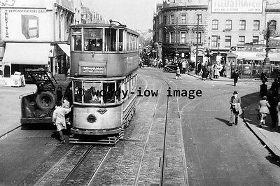 a0414 - London Tram no 1849 by Tooting Broadway - photograph