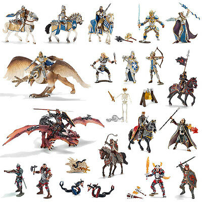 Schleich - Griffin Dragon Knight Play Set (22 x toy figure models) NEW heroes