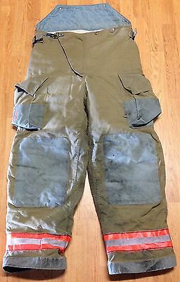 Vintage Globe Firefighter Bunker Turnout Pants 40 x 32 - 1998