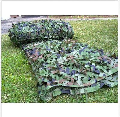 Woodland Stealth Camouflage Camo Net Shooting Hunting Hide Army 5MX3M Cover