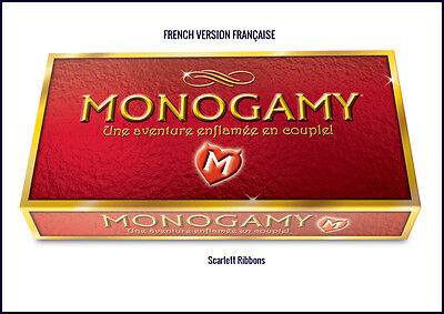 MONOGAMY Adult Board Game FRENCH DELUXE VERSION Romantic GIFT for Couples BNIB