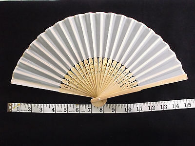 *hand Fans* 3 Diff ***not Perfect**dress Lady Civil War Victorian Fan Clothing