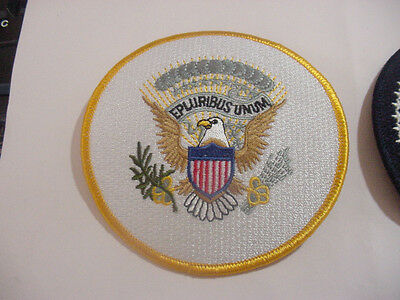 Set Of  2 Vice Presidential Seal Patch