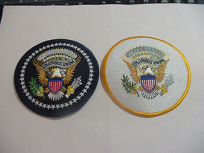 Set Of 2 Presidential And Vice Presidential Seal Patch