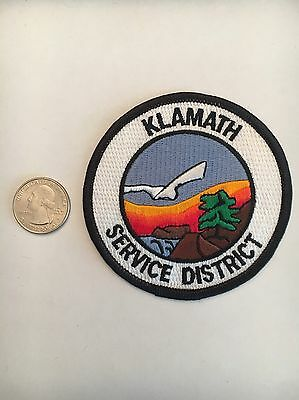 Klamath Oregon Service District Embroidered Patch Or