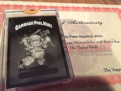 1985 Topps Garbage Pail Kids 4-Color Mask Negative Mad Mike ORIGINAL SERIES GPK
