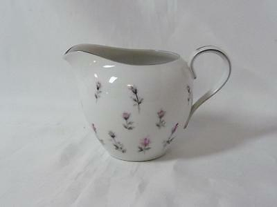 "Harmony House Fine China Rosebud #3534 Creamer Cream Pitcher 3"" 8oz. Japan"