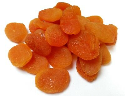 Apricots Whole Dried Pitted A Grade Premium Quality Free P&P