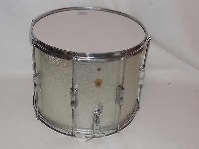 "Vintage Ludwig 15"" Silver Sparkle Pre Serial Snare Drum  #4"