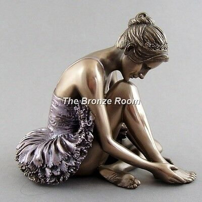 Bronze Ballerina Ballet Dancer Figurine