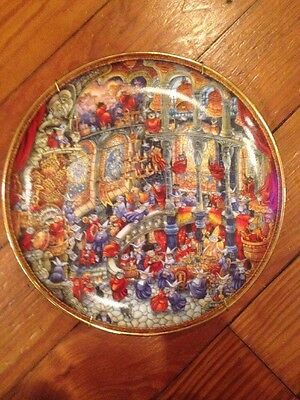 """Bill Bell Holy Cats Cat Collector's Plate 8"""" Franklin Mint"""