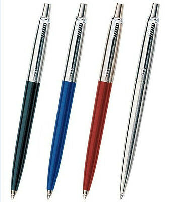 You pick 1 Parker Pen Jotter Ballpoint Pens Black / Blue / Red / Silver+Blue ink