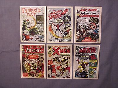 Marvel Superheroes First Issue Covers Complete Set 1984 60 Trading Cards
