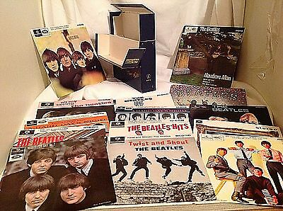 "Rare The BEATLES EP Collection Blue Box 14 X 7"" - BEP14 UK ED - Complete"