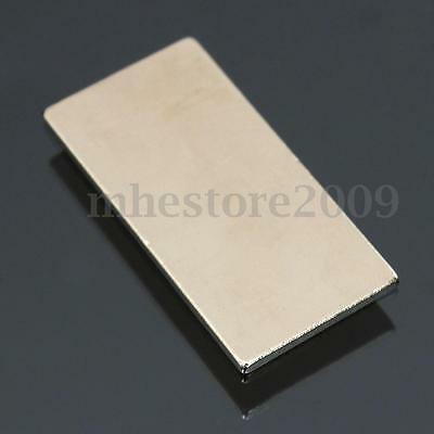 10Pcs Super Strong Block NdFeB Fridge Magnet Rare Earth Neodymium 40x20x2mm N50