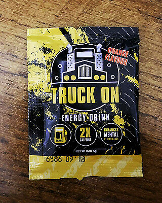 Truck On Energy Drink