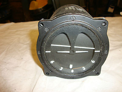 Original British Military Aircraft Horizon Meter Ww2 Spitfire Hurricane Fighter