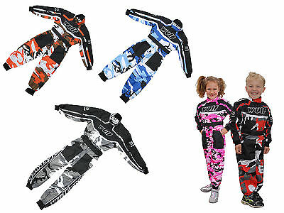 Wulfsport Cub Kid Youth MX Motocross Enduro Pit Lane Race Racing Suit Overalls