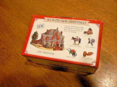 """Pre-Owned  Liberty Falls  """"john T. Boone's Home"""" W/accessories"""