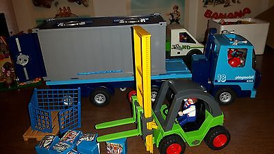 Playmobil - Camion Portacontainer E Muletto