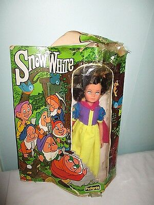 Very Rare Pedigree Snow White Doll. With Box. 11350. 1978. Sindy interest