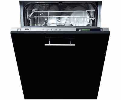 Beko DW603 Fully Integrated Full Size 60cm 12 Place Dishwasher Stainless Steel