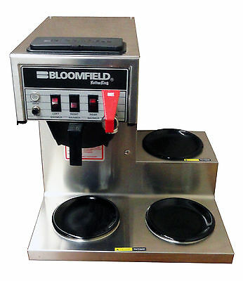 Bloomfield 8572 Low Profile Commercial Coffee Brewer Maker CONTACT 4 SHIPPING