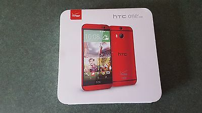 HTC One M8 Retail Box for Verizon Wireless  (Red Phone)