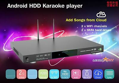 KHP-8856 ANDROID 5tb Vietnamese English karaoke player with 42000+ songs