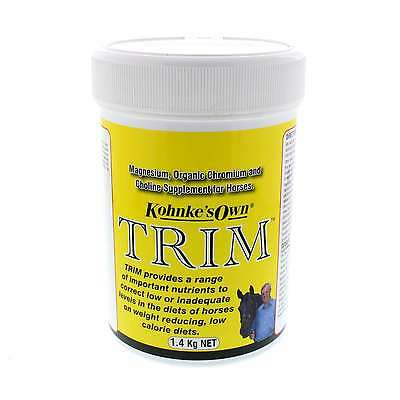 Trim for Weigh Reducing or Low Calorie Diets Kohnkes Own Horse Equine 1.4kg