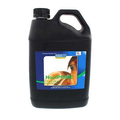 HoofPRIME Dressing for Hard Dry Brittle Hooves Kelato Horse Equine 5L