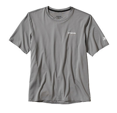 Patagonia Men's R0 Short Sleeved 50+ Sun T-Shirt - Feather Grey
