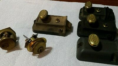 Vintage deadbolts antique
