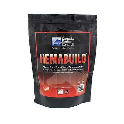 Hemabuild Vitamin B and Trace Mineral Supplement Horse Equine 450g Supplement