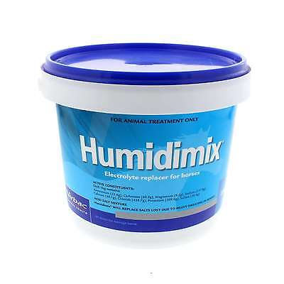 Humidimix Electrolyte Replacer Virbac Horse Equine 2.5kg Health Supplement