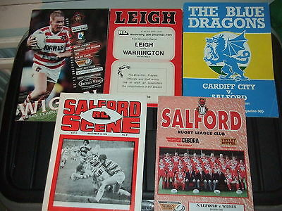 10 Rugby League Programmes Inc Carlise V Widnes