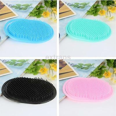 Portable Pocket Hair Brush Scalp Body Head Massage Military Hard Comb CA