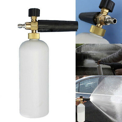 1L Metal High Pressure Washer Snow Foam Cannon Lance Soap Car Wash Gun