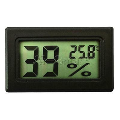New Mini Digital LCD Indoor Temperature Humidity Meter Thermometer Hygrometer