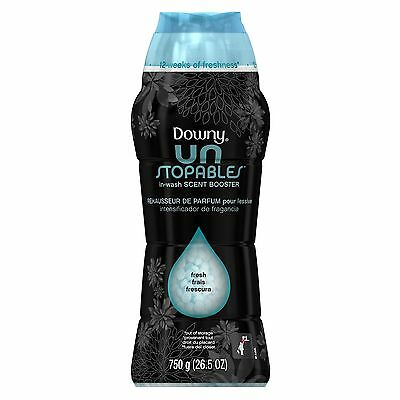 Downy Unstopables FreshIn-Wash Scent Booster Fabric Enhancer26.5oz{Long-lasting}