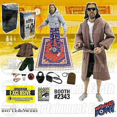 "Der Dude The Big Lebowski Jeff Bridges Con Exclusive 12"" Figur BBP Bif Bang Pow"
