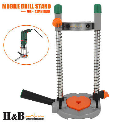 Drill Guide Drill Stand 45° Adjustable Electric Drill ∅ 42mm Mobile Swivel T0233