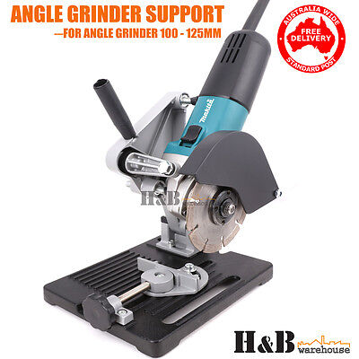 Angle Grinder Stand Grinder Holder Cutter Support Cast Iron base 100-125mm Sale
