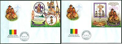 Boy Scouts Scouting Mali first day cover set
