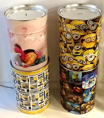 Despicable Me Mega money tins 20L *Officially licensed*