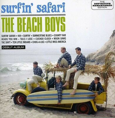 CD THE BEACH Boys Surfin' safari + Bonus Tracks / Stereo & Mono