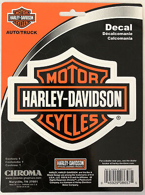 Harley-Davidson Bar & Shield Sticker Decal NEW