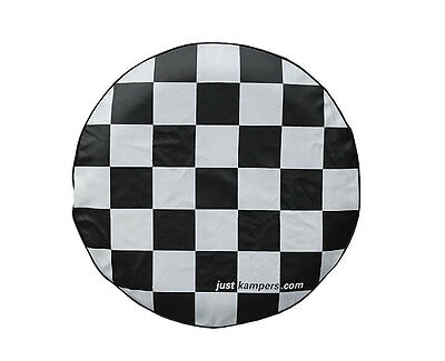 Chequered Spare Wheel Cover VW T2 Split 1964-1967 VW T2 Bay 1967-1979